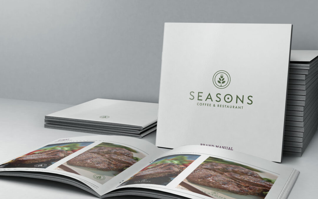 Manual de identitate – Seasons Coffee & Restaurant